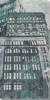Urban Montage 3rd Avenue Cityscape Wrapped Canvas Giclee Print