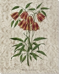 Victorian Flowers I Wrapped Canvas Giclee Print Wall Art