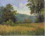 View from Grailville Wrapped Canvas Giclee Print Wall Art