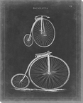 Vintage Bicycle II Wrapped Canvas Giclee Print Wall Art