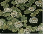 Water Lilies II Wrapped Canvas Giclee Print Wall Art