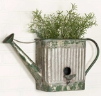 Watering Can Metal Wall Planter