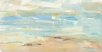 Watery Shore Wrapped Canvas Giclee Print Wall Art