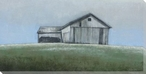 Weathered Barn Wrapped Canvas Giclee Print Wall Art