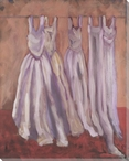Wedding Gowns Wrapped Canvas Giclee Print Wall Art