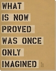 What is Now... Saying Wrapped Canvas Giclee Print Wall Art