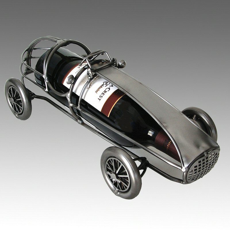 Race Car Wine Bottle Holder