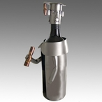 Whimsical Male Graduate Metal Wine Bottle Holder
