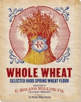 Whole Wheat Flour Wrapped Canvas Giclee Print Wall Art