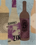 Wine Bottles 3 Wrapped Canvas Giclee Print Wall Art