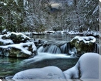 Winter at Greenbrier IV Wrapped Canvas Giclee Print Wall Art