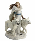 Winter Guardians Sculpture by Anne Stokes