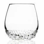 Woods Clear Mouth Blown Crystal Tumbler Glass by Mats Jonasson