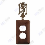 Yei Single Metal Outlet Cover