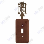Yei Single Toggle Metal Switch Plate Cover