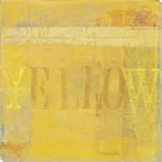"""Yellow"" Block Wrapped Canvas Giclee Print Wall Art"