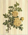Yellow Rose Flower Wrapped Canvas Giclee Print Wall Art
