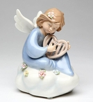 You Put Music in My Heart Angel Musical Music Box Sculpture