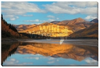 Yukon Gold Landscape Photographic Wrapped Canvas Giclee Print