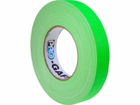 "1"" Fluorescent Pro Gaffer Tape - Case of 48 Rolls (4 Colors)"