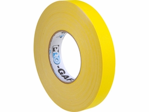"1"" Pro Gaffers Tape - Case of 48 Rolls (14 Colors)"