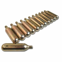 16-Gram CO2 Cylinder Threaded Cartidges - 12ct.