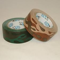 "2"" x 20yds Pro-Camo Gaff Tape - Per Roll (Forest or Desert Pattern)"