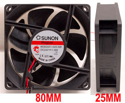 24V DC SMALL FAN FOR DESIGN SPOT 250P