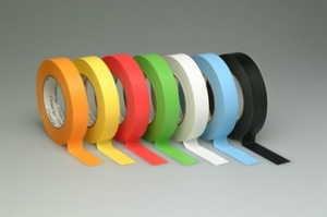 "3/4"" Colored Pro Console Label Tape - Case of 48 Rolls (6 Colors)"