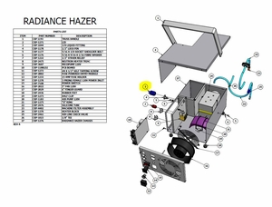 Radiance Hazer 3/8 Liquid Tight Fitting - #CXP-1044