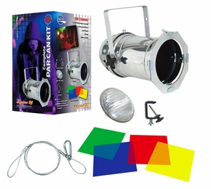American DJ Par 56 Can Combo Kit - Silver