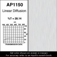 "Apollo 1150 - Linear Diffusion - Ten 20"" x 24"" Sheets"