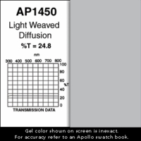 "Apollo 1450 - Light Weaved Diffusion - Ten 20"" x 24"" Sheets"
