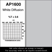 "Apollo 1600 - White Diffusion - Ten 20"" x 24"" Sheets"