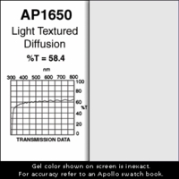 "Apollo 1650 - Light Textured Diffusion - Ten 20"" x 24"" Sheets"