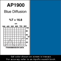 "Apollo 1900 - Blue Diffusion - Ten 20"" x 24"" Sheets"