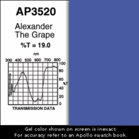 "Apollo 3520 - Alexander The Grape - Ten 20"" x 24"" Sheets"