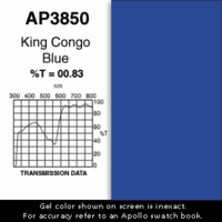 "Apollo 3850 - King Congo Blue - Ten 20"" x 24"" Sheets"