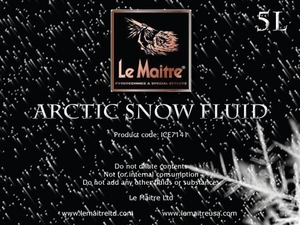 Arctic Snow Fluid - Case of Four 4L Bottles