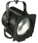 "65Q Black 6"" 750 Watt Quartz Focusing Fresnel with HPL Socket"