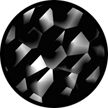 Black & White Abstract Glass Gobos