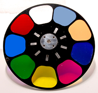 COLOR WHEEL FOR DESIGN SPOT 300E