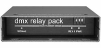 DMX Relay Pack - Two Relays - Low Voltage Output