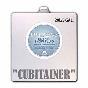 Dry 100 Little Blizzard Snow Fluid - 5 Gallon Cubitainer