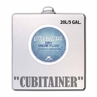 Dry Little Blizzard Snow Fluid - 5 Gallon Cubitainer