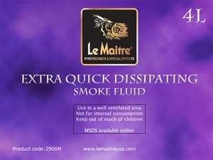 Extra Quick Dissipating Fog Fluid - 4L Bottle