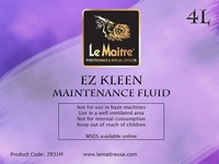 EZ Kleen Maintenance Fluid - 4L Bottle