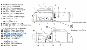 "F-100 Fogger Fluid Line 1/4"" x 2' (Tank to Pump)"