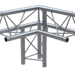 F23 Range - 3-Way 90 Degree Right Truss Corner