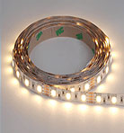 Flexible LED Strip - 9.8' Roll - Warm White - 60 LED's Per Meter